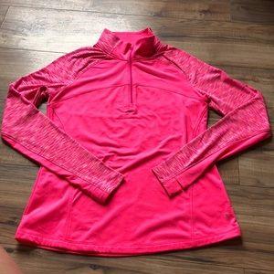 NWOT Danskin Quarter Zip Yoga Jacket Medium